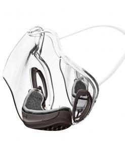 masque transparent anti covid wesmilee noir